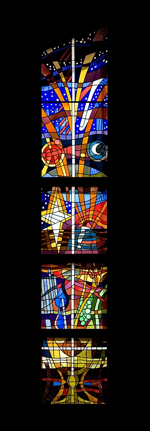 Richard Caemmerer stained glass window 2 of 2