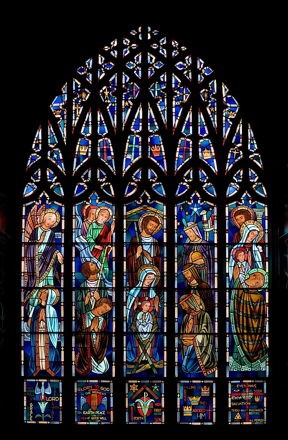 James Crombe stained glass window 1 of 2