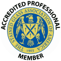 Active accredited member - Stained Glass Association Logo